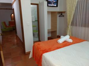 Apartahotel La Gran Familia, Apartmánové hotely  Villa de Leyva - big - 77