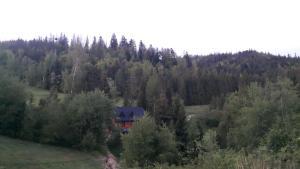 Bacówka w sercu gór dom z bali w Gorcach
