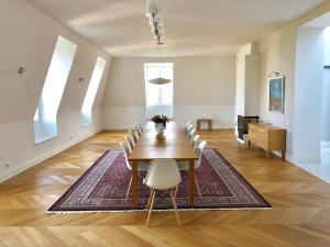250 m2 of luxury penthouse at Old Mokotów 70 m2 Warsaw panorama terrace 270 degrees