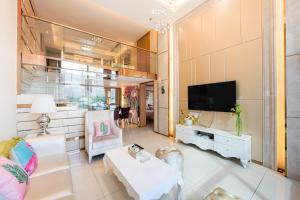 Changlong Star Loft Apartment, Apartmanok  Kuangcsou - big - 5