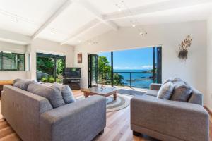 Beachfront Enclosure Bay - Waiheke Unlimited, Dovolenkové domy  Oneroa - big - 31