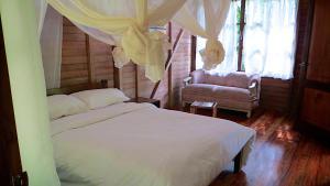 Huella Verde Rainforest Lodge, Chaty v prírode  Canelos - big - 7