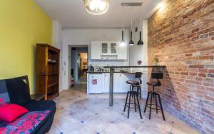 Apartament w kamienicy na Mokotowie