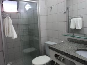 Flat Via Venetto Meirelles, Apartmány  Fortaleza - big - 14