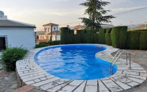villa with 3 bedrooms in monachil, with wonderful city view, private pool, en... - Cájar