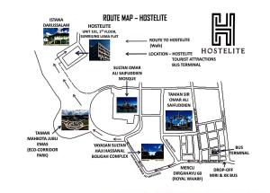 Hostels e Albergues - Hostelite Brunei