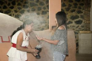 Tonantzincalli SPA Prehispanico, Ubytování v soukromí  Chiconcuac - big - 17