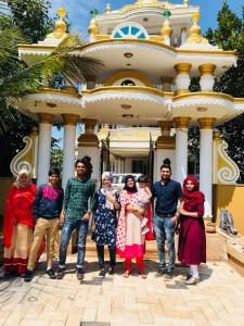 White Gold Palace, Проживание в семье  Sultan Bathery - big - 20