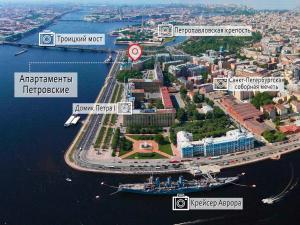 Petrovskiye Apartments, Ferienwohnungen  Sankt Petersburg - big - 33