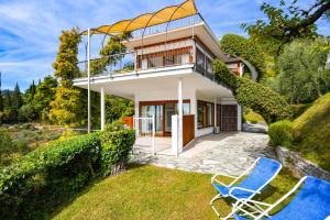 La Villa Fasano, Apartmánové hotely  Gardone Riviera - big - 169