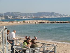 Cannes Terrace Beach Front & Sea view, Apartments  Cannes - big - 6