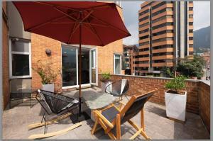 Gorgeous Chapinero Alto Apartment, Apartmány  Bogota - big - 9