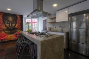 Gorgeous Chapinero Alto Apartment, Apartmány  Bogota - big - 11