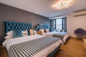 Rongyi Apartment, Apartmány  Kanton - big - 196
