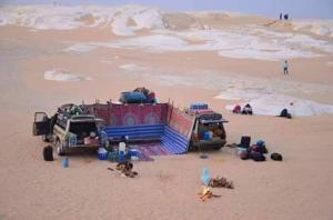 White desert, Campsites  Bawiti - big - 148