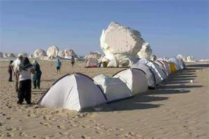 White desert, Campsites  Bawiti - big - 25