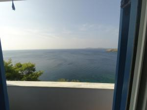 Blue Waves View Andros Greece