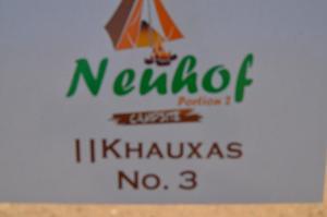 Neuhof Portion 2 Campsite, Campeggi  Sesriem - big - 28