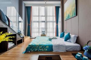 Lavendar Duplex Apartment, Apartments  Guangzhou - big - 62
