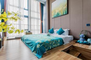 Lavendar Duplex Apartment, Apartments  Guangzhou - big - 58