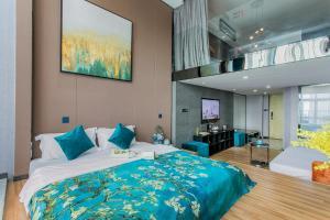 Lavendar Duplex Apartment, Apartments  Guangzhou - big - 64