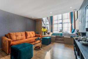 Lavendar Duplex Apartment, Apartments  Guangzhou - big - 24