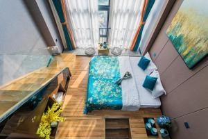 Lavendar Duplex Apartment, Apartments  Guangzhou - big - 67