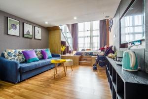 Lavendar Duplex Apartment, Apartments  Guangzhou - big - 80