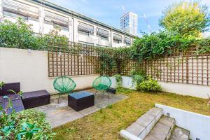 Stylish garden apartment Nr High Street Kensington, Ferienwohnungen  London - big - 34