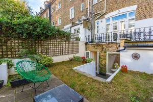 Stylish garden apartment Nr High Street Kensington, Ferienwohnungen  London - big - 33