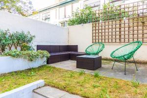 Stylish garden apartment Nr High Street Kensington, Ferienwohnungen  London - big - 31