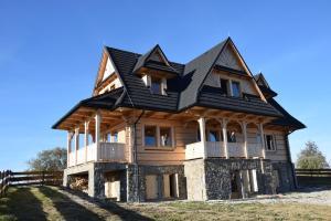 Dom z widokiem na Wierchy Traditional folk house