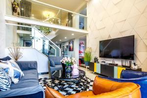 Rongyi Apartment, Apartmány  Kanton - big - 128