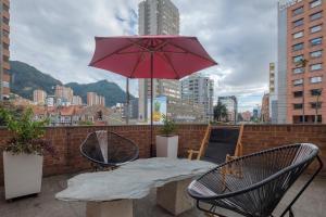 Gorgeous Chapinero Alto Apartment, Apartmány  Bogota - big - 24