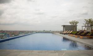 Bodaiju Residences, Апартаменты  Пномпень - big - 52