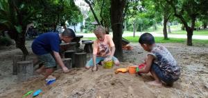 Rai Lung Tui Homestay, Magánszobák  Pracsuap Khirikhan - big - 4