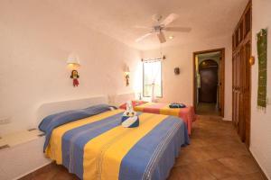 Luna Azul, Unit #3, Апартаменты  Акумаль - big - 38