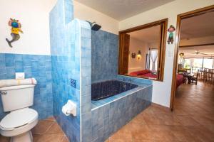 Luna Azul, Unit #3, Апартаменты  Акумаль - big - 35