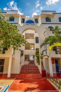 Luna Azul, Unit #3, Апартаменты  Акумаль - big - 18
