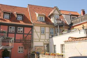 Urlaub im Fachwerk - Klink, Appartamenti  Quedlinburg - big - 67