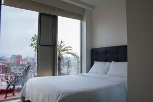 Puerta Alameda Suites, Apartmány  Mexiko - big - 83