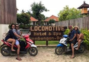Locomotive Hotel and Spa, Szállodák  Nusa Lembongan - big - 68