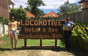 Locomotive Hotel and Spa, Szállodák  Nusa Lembongan - big - 72