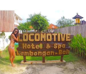 Locomotive Hotel and Spa, Szállodák  Nusa Lembongan - big - 50