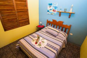 Double Room with Balcony, Sea View and Shared Bathroom Hostel Vista Serena