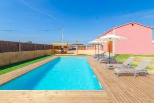 Vidreres Villa Sleeps 14 Pool Air Con WiFi, Vily  Vidreres - big - 44