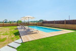 Vidreres Villa Sleeps 14 Pool Air Con WiFi, Vily  Vidreres - big - 38