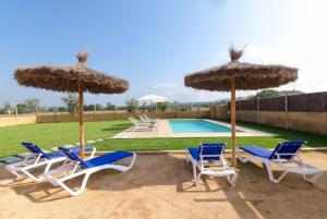 Vidreres Villa Sleeps 14 Pool Air Con WiFi, Vily  Vidreres - big - 20
