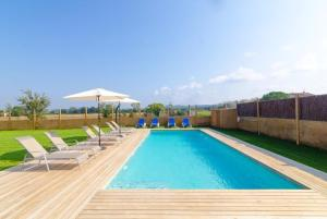 Vidreres Villa Sleeps 14 Pool Air Con WiFi, Vily  Vidreres - big - 13