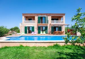 Calonge Villa Sleeps 8 Pool Air Con WiFi - Calonge